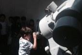 Ankara Üniversitesi Kreiken Rasathanesinde Coude teleskobu ile Güneş ve Güneş Lekeleri  gözlemi gerçekleştirilmiştir