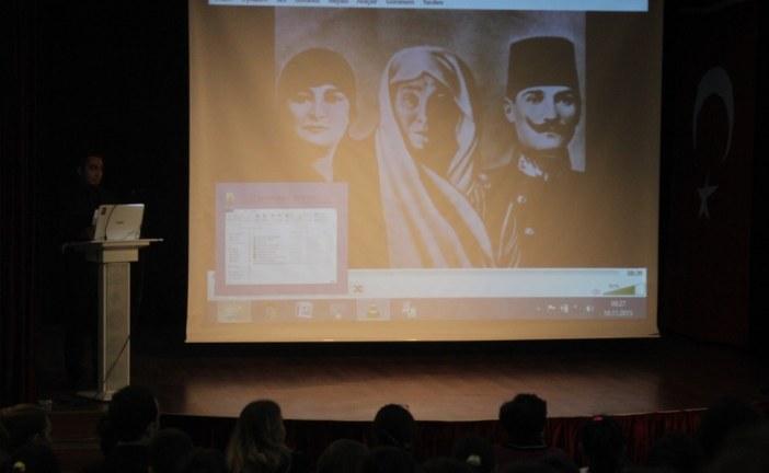 10 Kasım  2015 Atatürk'ü Anma Töreni
